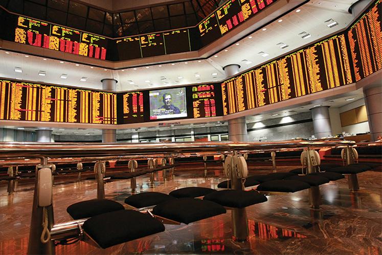 Bursa Malaysia pares loss this afternoon after losing RM96b market cap