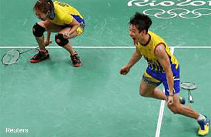 Olympics Badminton – Malaysia mixed doubles pair in final