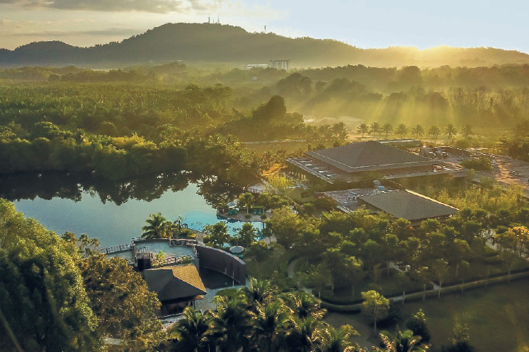 A sustainable resort driven by passion