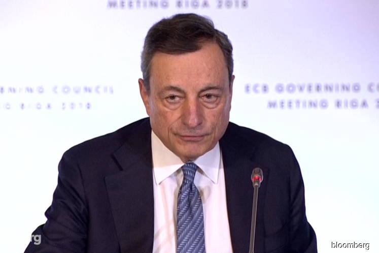 ECB cuts rates, revives QE to lift growth as Draghi era ends