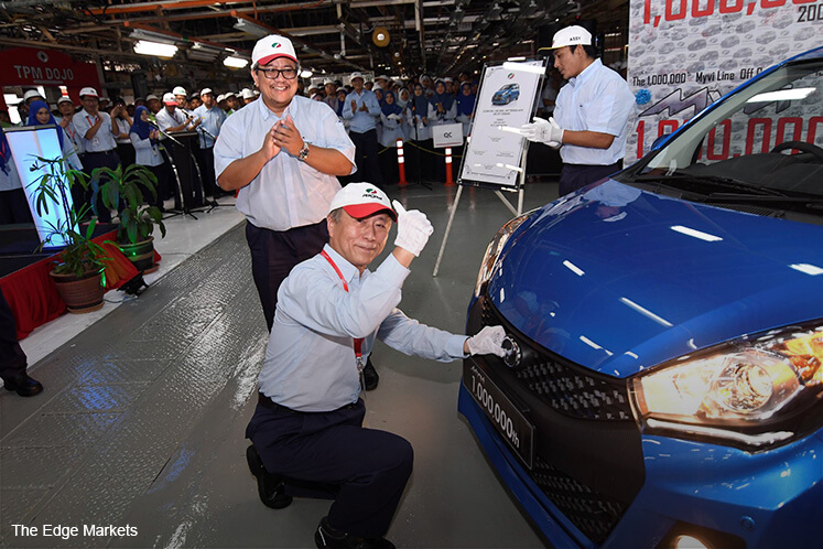 Perodua Myvi hits millionth production unit