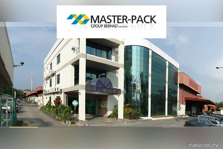 Master-Pack shares hit limit down
