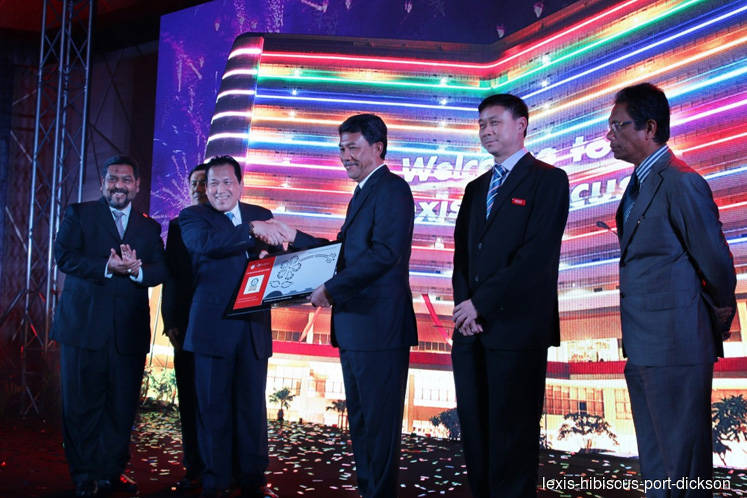Largest resort in Port Dickson Lexis Hibiscus Port Dickson officially opens