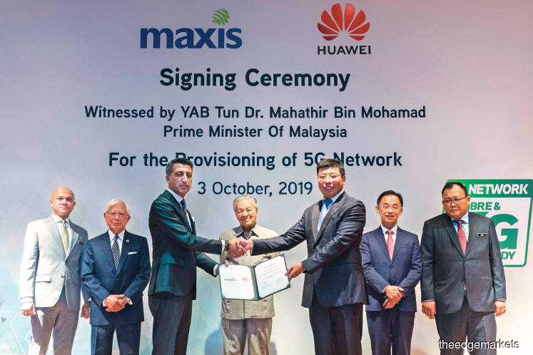 Maxis seals 5G deal with Huawei, readies for 2020 roll-out