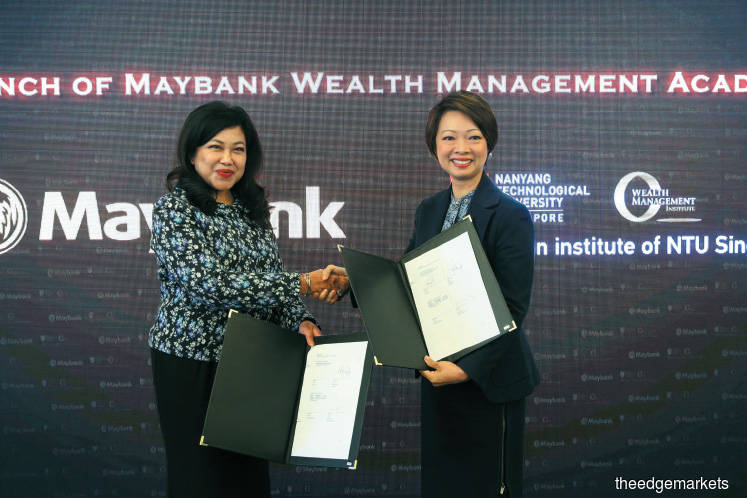 Maybank and Singapore's WMI to set up wealth management academy