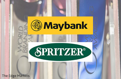 Maybank, Spritzer among 210 winner of the 2016 World Branding Awards