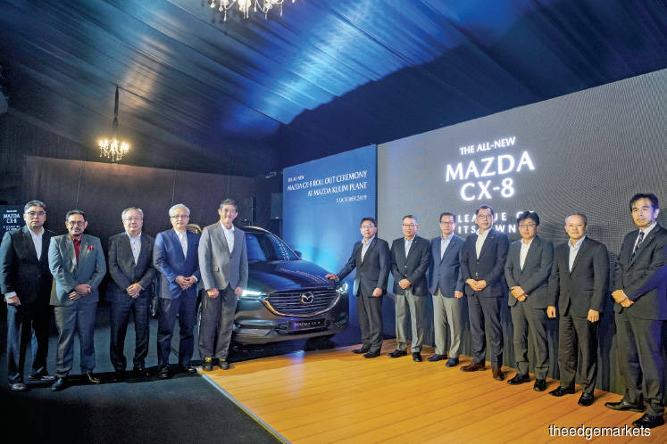 BAuto eyes sales of 2,000 units of CX-8 yearly