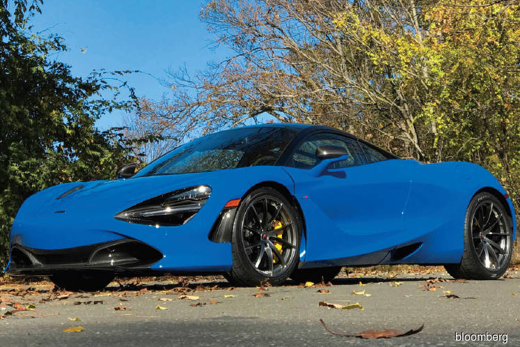 Cars: The McLaren 720S is bold on the outside, awkward on the inside
