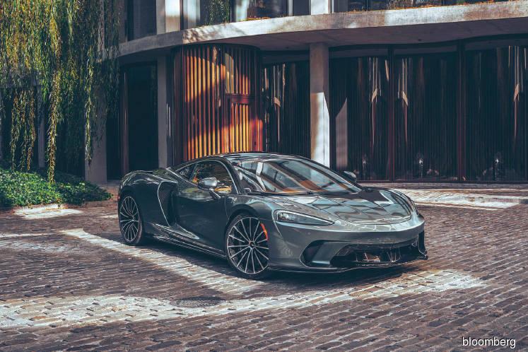 With its US$210,000 GT, McLaren bears down on Bentley