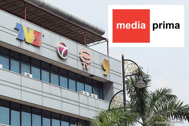 Media Prima rises after reporting 2Q, 1H profit