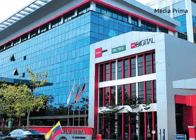 Media Prima's 3Q net profit up 5%, pays 2 sen dividend