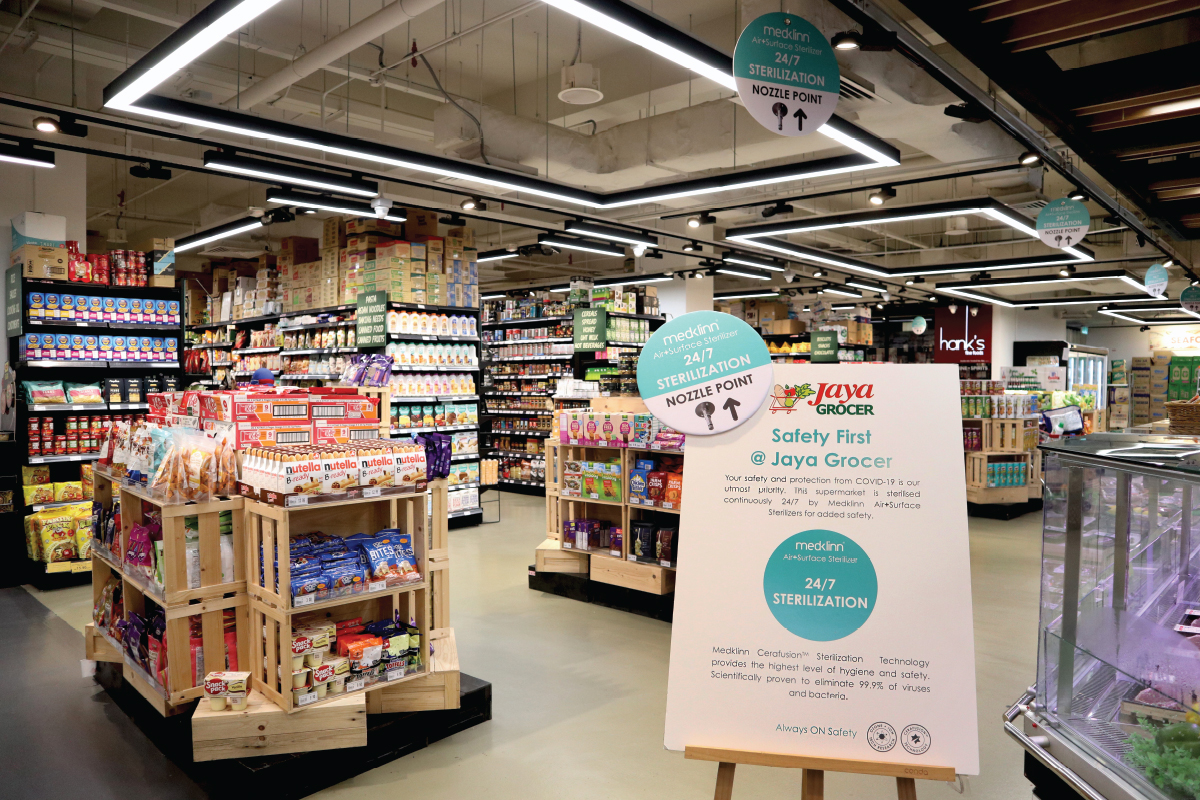 Jaya Grocer raises the bar in hygiene and safety