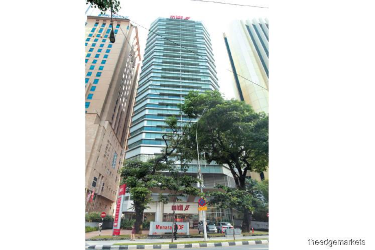 PNB seeks buyer for Menara MIDF in KL