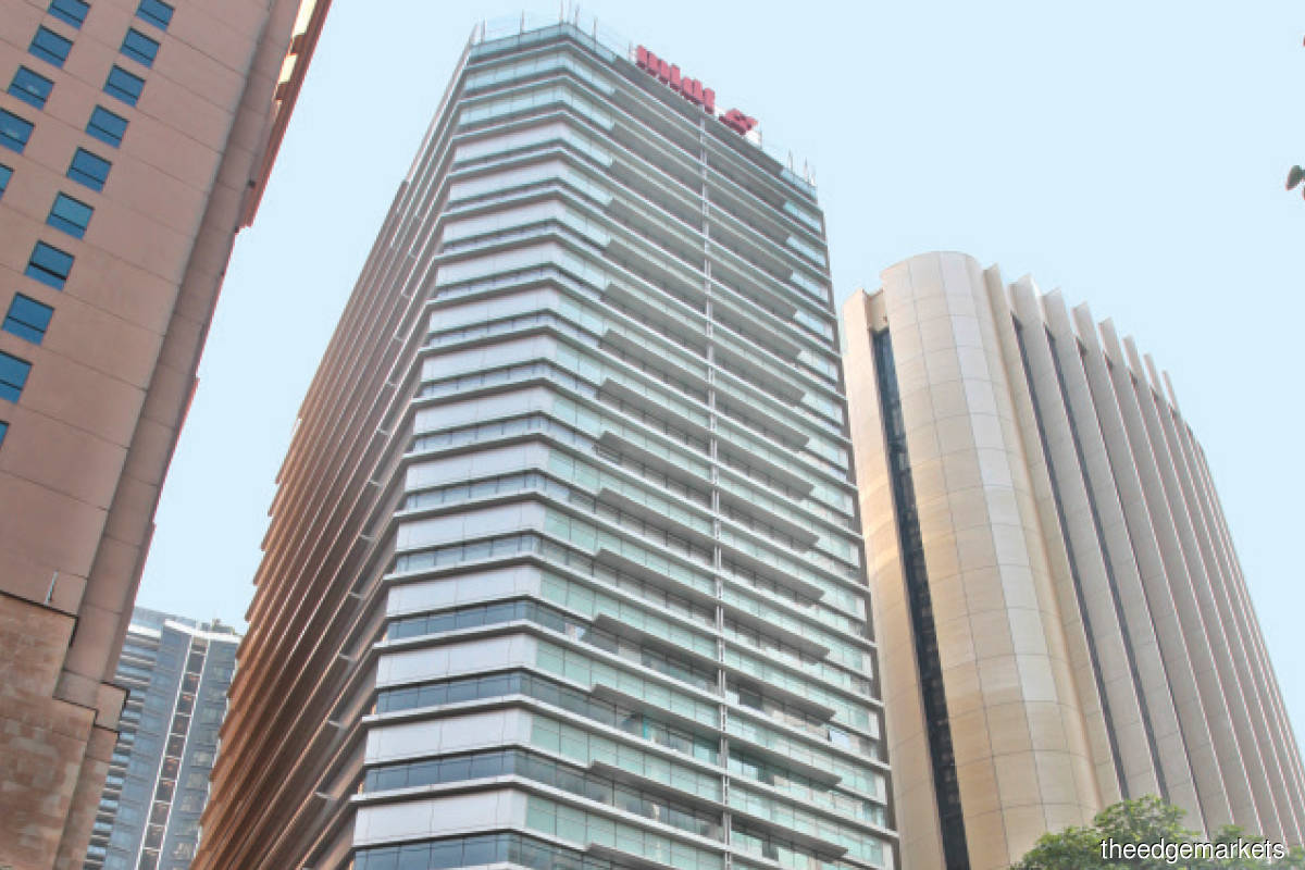The new owner is reported to be planning to retain Menara MIDF as an office building but is likely to repurpose it as a hotel at a later stage. (Photo by Suhaimi Yusuf/The Edge)