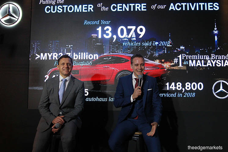 Mercedes-Benz M'sia hits record sales in 2018 on expanding product portfolio