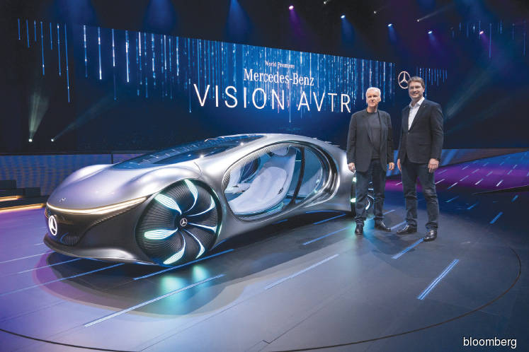Cars: Mercedes goes Hollywood with 'Avatar'-inspired cyborg concept car