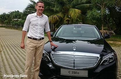 Mercedes-Benz unveils C-Class 350e Hybrid