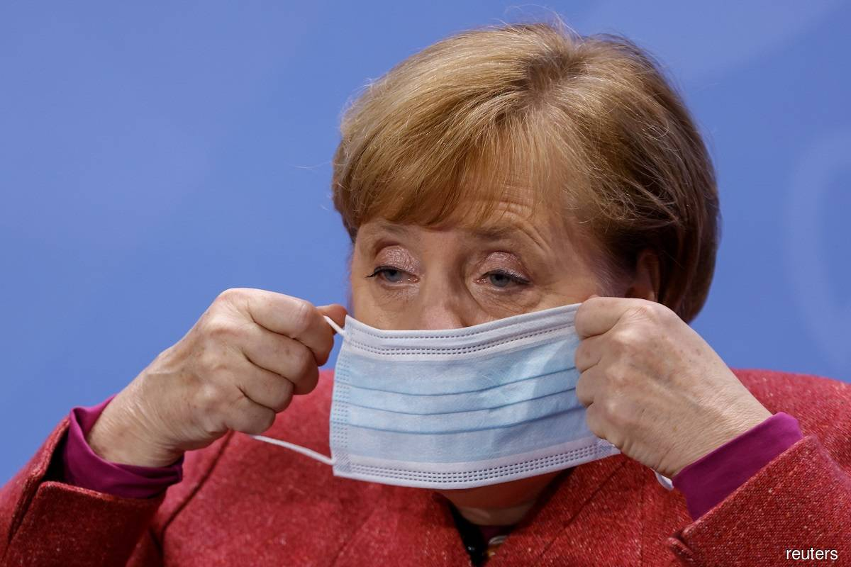 Merkel's Cabinet approves lockdown law to tackle surging Covid-19 cases