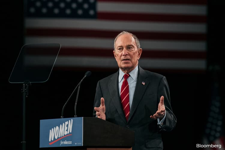 Bloomberg Visits Capitol Hill to Woo Democratic Lawmakers
