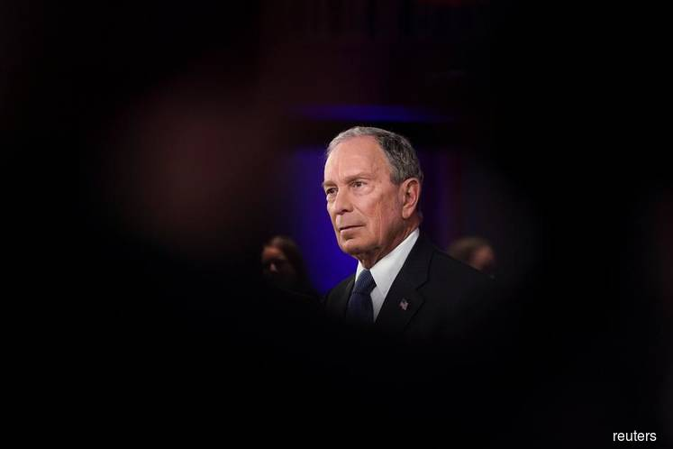 FILE PHOTO: Democratic presidential contender Michael Bloomberg participates during a live televised town hall in Manassas, Virginia, U.S. on March 2, 2020. (Photo credit: Kevin Lamarque/REUTERS)