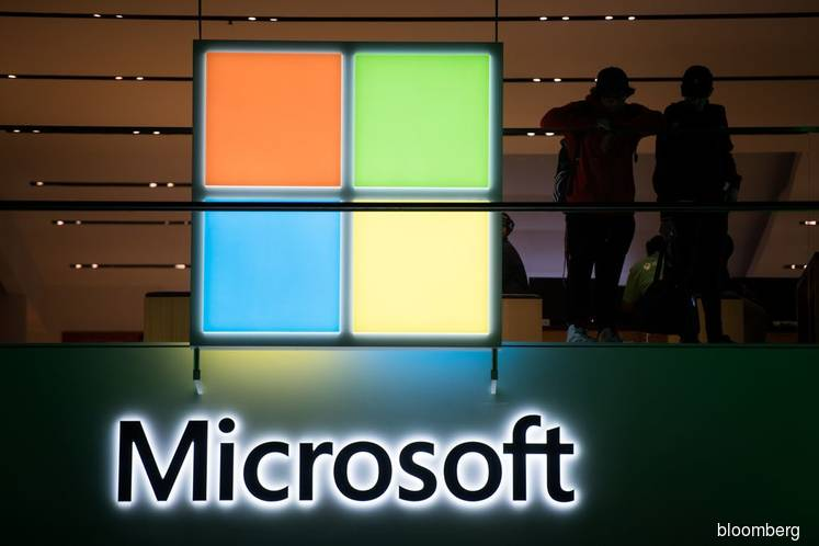 Microsoft results could take valuation above US$1 tril