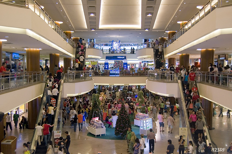 Fire on second level of Mid Valley Megamall under control