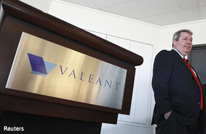 Valeant CEO back with less power and no glory