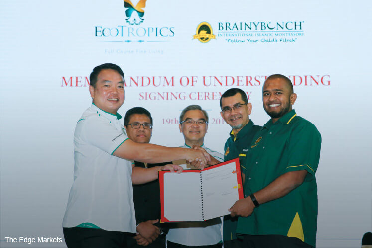 Brainy Bunch To Open In Two Ecoworld Townships The Edge Markets