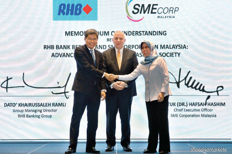 RHB teams up with SME Corp to advance cashless payments