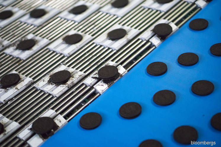 Mondelez is said in advanced talks for Campbell's cookies