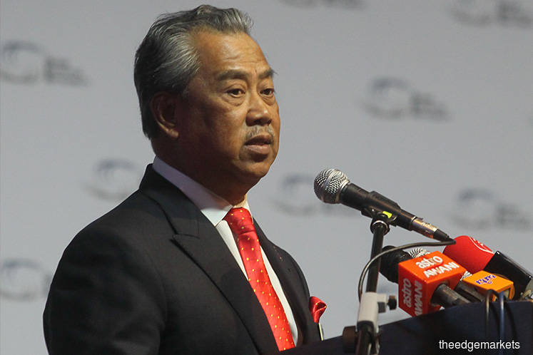 Muhyiddin takes over from Mahathir as chairman of Khazanah