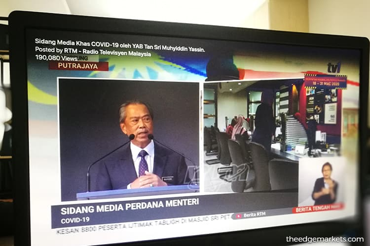 Comprehensive Economic Stimulus Package to be announced on March 30 — Muhyiddin