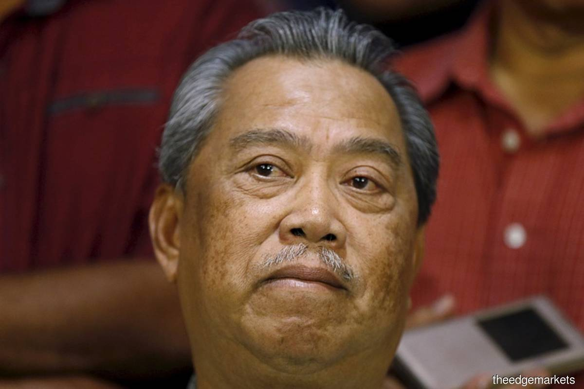 'We are only questioning Muhyiddin's (pic) legitimacy as the prime minister and whether he was in any position to advise Agong on the state of emergency,' says Khairuddin's lawyer.