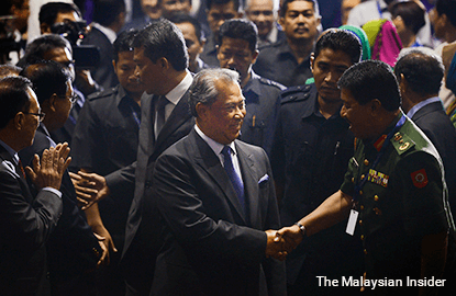 Muhyiddin joins Anwar as 2nd DPM to be sacked from post