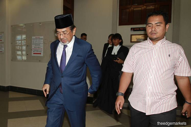 Court sets May 6 to hear application to transfer Musa Aman's cases to High Court