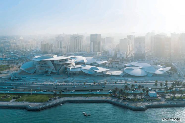 Inside Qatar's spectacular 'Desert Rose' museum