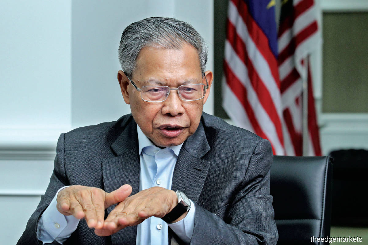 """Malaysia is a developing economy. We need to ensure that the economy grows while at the same time, safeguarding the environment."""" — Mustapa (Photo by Kenny Yap/The Edge)"""