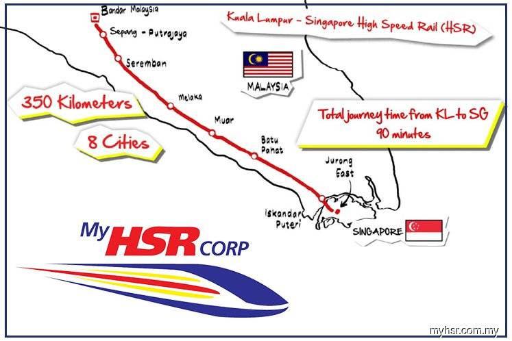 MyHSR seeks consultant to review KL-S'pore HSR cost-cutting options