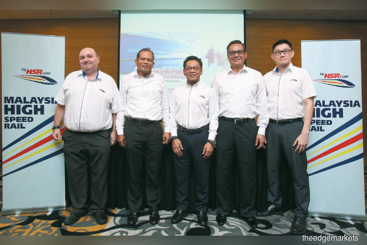 KL-Singapore HSR works to start by year end