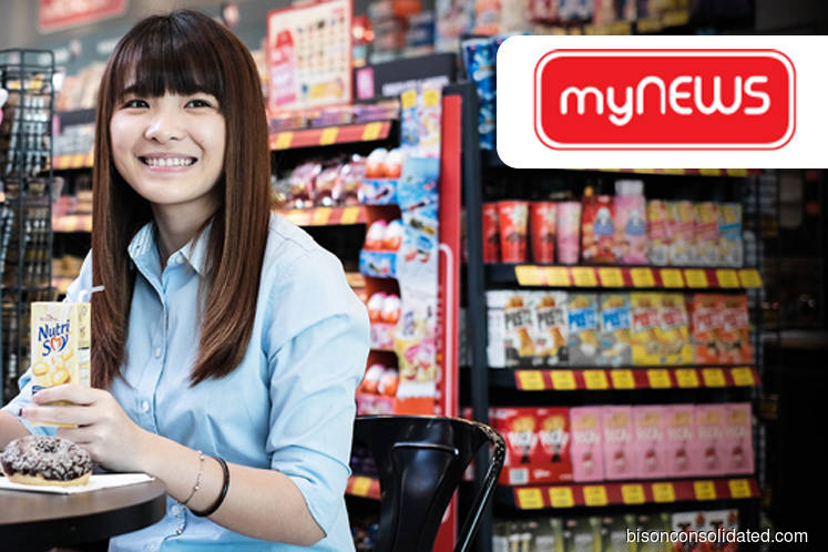 F&B products expected to improve Mynews gross margin in the long term