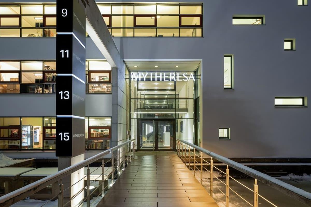 Mytheresa headquarters in Munich. (Photographer: David Sass/Mytheresa)