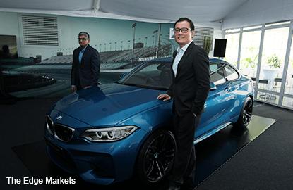 BMW unveils new sports coupé M2