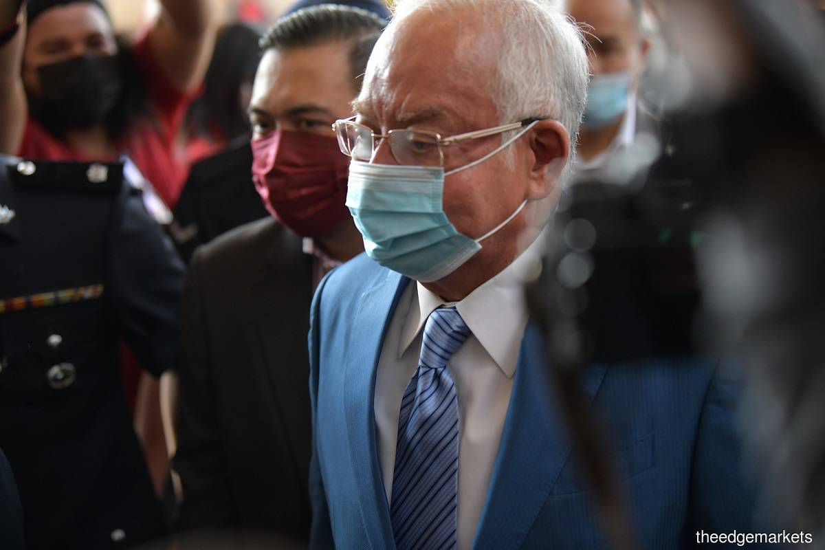 Najib is the only accused in the case. (Photo by Mohd Suhaimi Mohamed Yusuf)