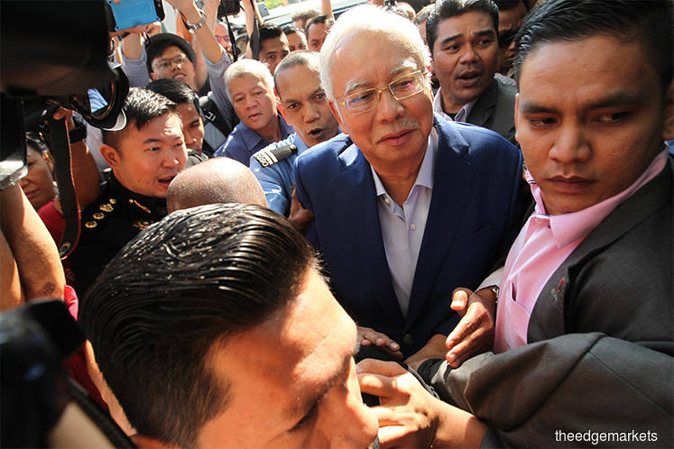 Will Najib be called to enter his defence today?