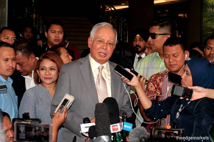 Funds diversion was to avoid Malaysian bond market collapse, says Najib