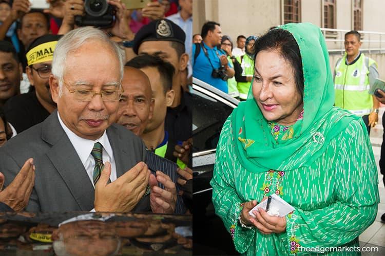 Selangor Sultan suspends titles awarded to Najib and Rosmah