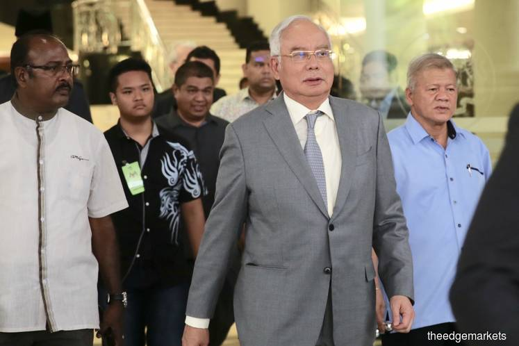 Najib's lawyer raises donation claim in SRC trial