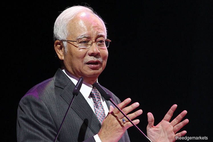 Najib defends HSR, could have achieved RM650b in GNI by 2069