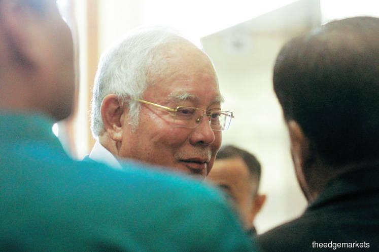 Najib bought watch Rosmah chose to make up for shortened holiday