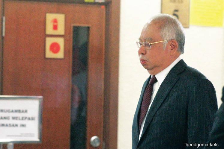 Najib's legal tribulations in 2020